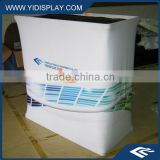 Tension Fabric Promotional pop up display counter