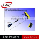 telescopic snow brush with ice scaper