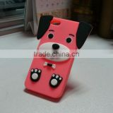 2013 cheap pug new style Silicone mobile phone cover
