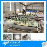 High automatic small capacity plaster board making equipments with best quality