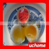 UCHOME Hot Sell Fashion Temperature Controlled Colour Changing Egg Timer FDA Egg Shape Kitchen Timer