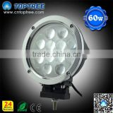 7 INCH 60W LED DRIVING WORK LIGHTS SPOT OFFROAD TRUCK 12V REPLACE HID