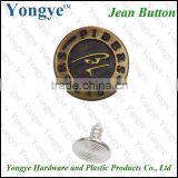 <b>Fashion</b> jean <b>jacket</b> metal buttons for garmment and clothing