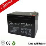 12v 12ah AGM VRLA battery