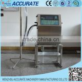 Manufacturing date printing machine on bottles