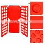 Clothes/T Shirt Folder Blue Plastic 5mm Thickness Shirt Folding Board Easy and Fast Laundry Folder