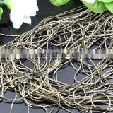 0.6mm Antique Bronze Chain Copper Link Chain For Jewelry Diy