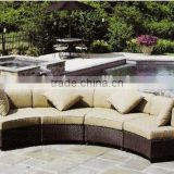 2015 Husen 5 Pieces Stylish Outdoor Wicker Garden Sofa Set