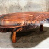 Galaxy Solid Slab Suar Coffee Table