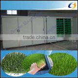 Soilless culture hydroponic barley feed sprouting solution for poultry,Cattle Sheep Horse Animal Livestock