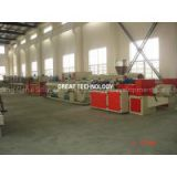 Drainage/water/sewer PVC pipe production line