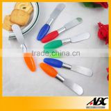 Professional Easy Cleaning Stainless Steel Dinner Colorful Butter Knife