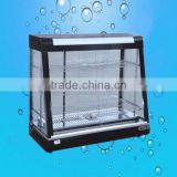 Disktop -type refrigeration glass display cabinet showcase for food machinery