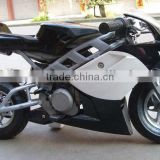 49cc 80km/hour metal high speed pocket rocket/gas motorcycle for kids