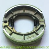 Motorcycle brake shoe for SUZUKI,weightness of 250g