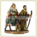 Wholesale New Polyresin Catholic Religious Statue,Paintings Holy Family,Holy Family Statue