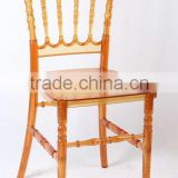 crystal napoleon chair for wedding party rental