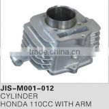 Motorcycle parts & accessories cylinder/engine for HONDA 110CC WITH ARM