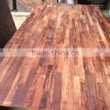 Merbau wood, wood Finger Joint Board for Worktop/flooring/staircase