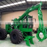 china wood cane loader with grass fork and wood fork
