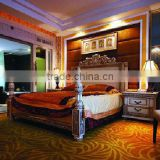 Antique style luxury design hotel bedroom set (BG90501)