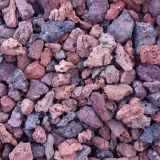 Honed Polished Bush Hammered Volcanic Lava Rock For Outdoor Decoration