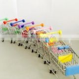 mini funny supermarket shopping trolley