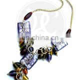 ( SUPER DEAL) GLASS BEADS NECKLACE