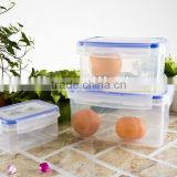2016 high quality food plastic container with low price