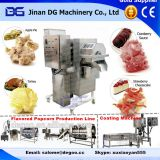 Automatic syrup coating popcorn making machine hot air pop corn puffer
