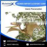 Flying Figure of Giant Pteranodon Dinosaur at Low Rate