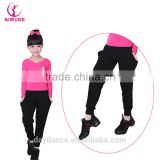 OEM High Quality Long Dance Pants Kids Training Pants
