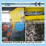 Single Shaft PE film Shredder/ High speed PE film Pulverizer