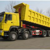 Chinese Truck  8*4 TIPPER TRUCK LOADING 30-40 TONS CAPACITY