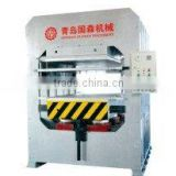 Hot press for Moulding door panel