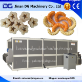 Automatic directly puff snack food production line twin screw extruder
