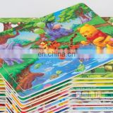 Cheap blank sublimation gift jigsaw for childern