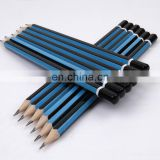 "High Quality Dipped- head 7"" Wooden HB Pencil Set"