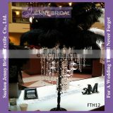 FTH12 ostrich feather table centerpiece tree