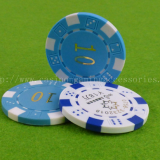 ABS Printable Dice Poker Chip , Professional Gaming Chip With Number