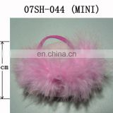 Cute! Mini Pink Fur Slipper for Plush Toys and Dolls!
