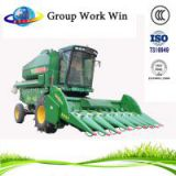 self-propelled combine bean harvester