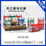 Cute beverage can paper money box