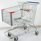 American style supermarket 190L shopping cart trolley for sale