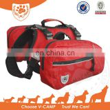 Comfortable Travelling Dog Backpack and dog harness