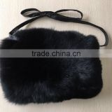 YR785C Winter warm fox fur hand warmer
