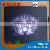 2016 hot sale promotional printing durable wholesale rubber fabric mousepad