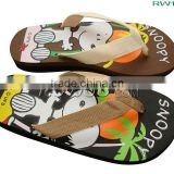 RW16635 kids' snoppy slippers