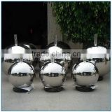 Garden Hollow Balls Sculpture Stainless Steel Sphere Sculpture