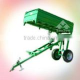 car transport truck 4.0T 3 way tractor trailer/tipping trailer, three sides semi tipper hydraulic dump trailer parts